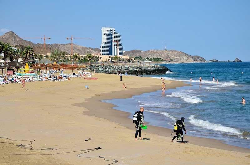 Оманский залив фото