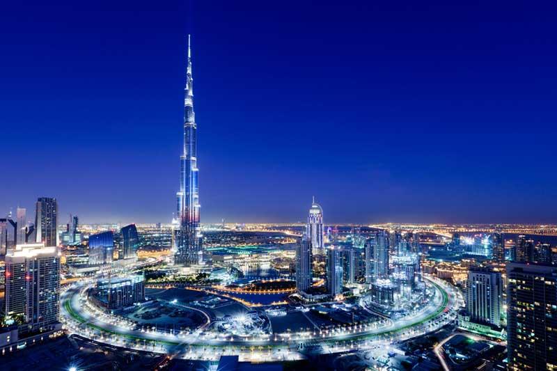 Бурдж Халифа - самый высокий небоскреб